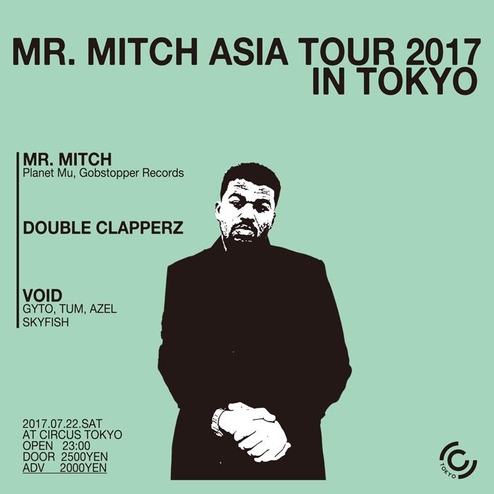Mr.Mitch Asia tour in Tokyo